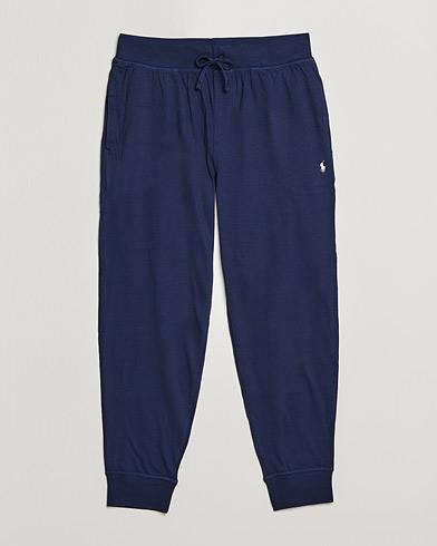 Polo Ralph Lauren Liquid Cotton Sweatpants Navy i gruppen Tøj / Pyjamas & Morgenkåber / Loungewear hos Care of Carl (15754311r)