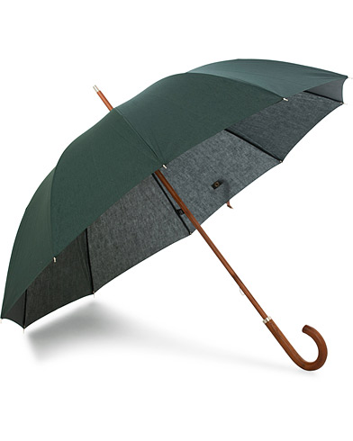 Carl Dagg Series 001 Umbrella Cloudy Green  i gruppen Tilbehør / Paraplyer hos Care of Carl (15759810)