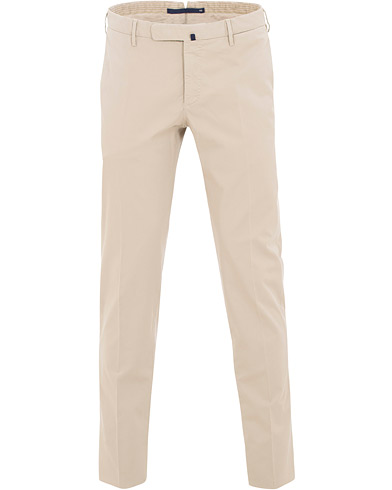 Incotex Slim Fit Stretch Chinos Khaki i gruppen Klær / Bukser / Chinos hos Care of Carl (15761011r)