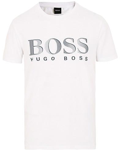 BOSS Sun Protection Tee White i gruppen Kläder / T-Shirts / Kortärmade t-shirts hos Care of Carl (15797211r)