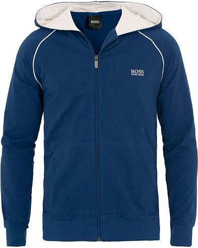 BOSS Loungewear Full Zip Hoodie Blue i gruppen Klær / Gensere / Hettegensere hos Care of Carl (15799411r)