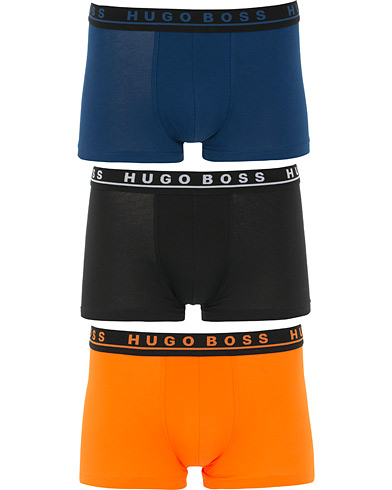 BOSS 3-Pack Trunk Black/Navy/Orange i gruppen Klær / Undertøy / Underbukser hos Care of Carl (15800211r)