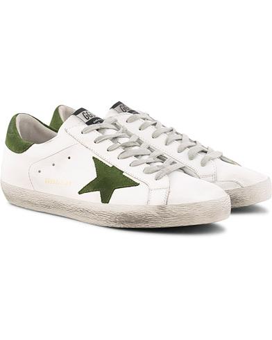 Golden Goose Deluxe Brand Ice Suede Superstar Sneaker White Calf i gruppen Sko / Sneakers / Sneakers med lavt skaft hos Care of Carl (15807411r)