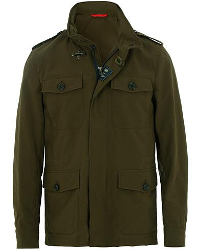 Fay New Chelsea Fieldjacket Military Green i gruppen Kläder / Jackor / Field jackets hos Care of Carl (15809011r)
