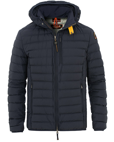 Parajumpers Last Minute Super Lightweight Hooded Jacket Blue/Black i gruppen Tøj / Jakker / Dunjakker hos Care of Carl (15835911r)