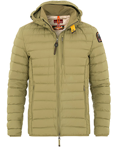 Parajumpers Last Minute Super Lightweight Hooded Jacket Capers Green i gruppen Tøj / Jakker / Dunjakker hos Care of Carl (15836011r)
