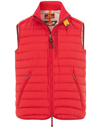 Parajumpers Perfect Super Lightweight Vest Red i gruppen Klær / Jakker / Dunjakker hos Care of Carl (15836311r)