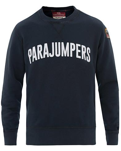 Parajumpers Caleb Crew Neck Sweatshirt Navy i gruppen Tøj / Trøjer / Sweatshirts hos Care of Carl (15837211r)