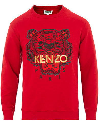 Kenzo Chinese New Year Icon Tiger Sweatshirt Red i gruppen Klær / Gensere / Sweatshirts hos Care of Carl (15841611r)