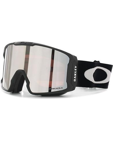 Oakley Line Miner Prizm Snow Goggles Black/Black  i gruppen Tilbehør / Solbriller / Skibriller hos Care of Carl (15842610)