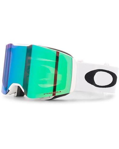 Oakley Fall Line Prizm Snow Goggles Green/White  i gruppen Accessoarer / Solglasögon / Skidglasögon hos Care of Carl (15843010)