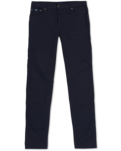 Hackett Trinity 5-Pocket Trousers Navy i gruppen Kläder / Byxor / 5-ficksbyxor hos Care of Carl (15851311r)