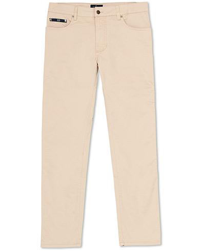 Hackett Trinity 5-Pocket Trousers Oatmeal i gruppen Kläder / Byxor / 5-ficksbyxor hos Care of Carl (15851511r)
