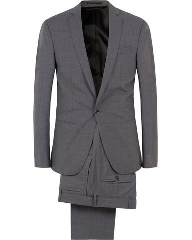 Filippa K Christian Cool Wool Suit Grey Melange i gruppen Design A / Dresser hos Care of Carl (SA000018)