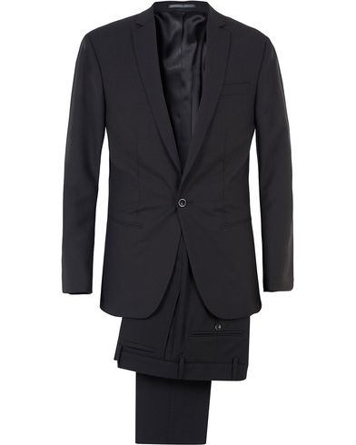 Filippa K Christian Cool Wool Suit Black i gruppen Kostymer hos Care of Carl (SA000020)