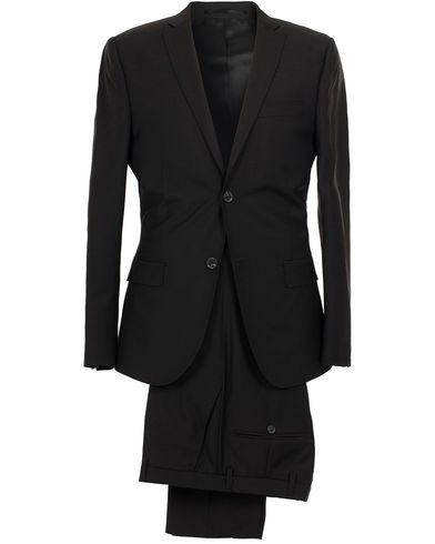 J.Lindeberg Hopper Suit Wool Black i gruppen Kläder / Kostymer hos Care of Carl (SA000024)