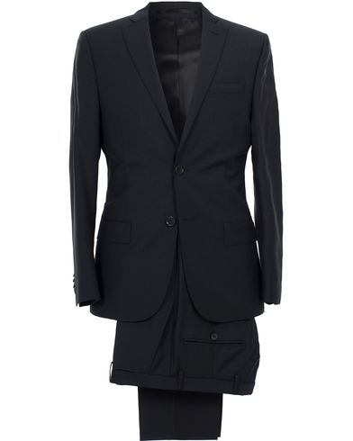J.Lindeberg Hopper Suit Wool Dark Blue i gruppen Kostymer hos Care of Carl (SA000025)
