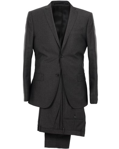 J.Lindeberg Hopper Suit Wool Grey Melange i gruppen Klær / Dresser hos Care of Carl (SA000026)