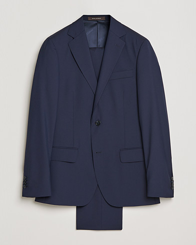 Edmund Suit Super 120's Wool Navy i gruppen Dresser hos Care of Carl (SA000053)