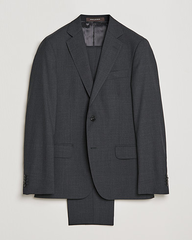 Edmund Suit Super 120's Wool Grey i gruppen Kostymer hos Care of Carl (SA000054)