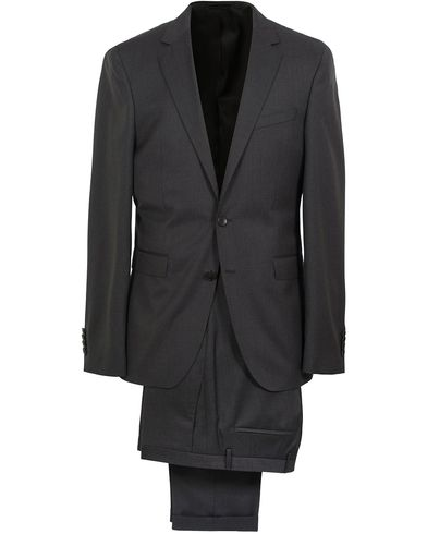 BOSS Ryan Slim Fit Wool Suit Charcoal i gruppen Dresser hos Care of Carl (SA000160)