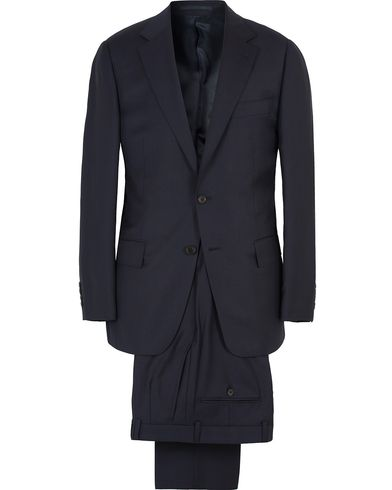 Gieves & Hawkes Wool Suit Navy i gruppen Design A / Kostymer hos Care of Carl (SA000164)