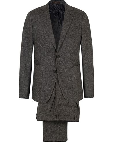 Oscar Jacobson Einar Lambswool Suit Dark Grey i gruppen Kostymer hos Care of Carl (SA000171)