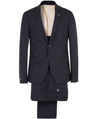 Gant Rugger The Hopsack Suit Navy i gruppen Kostymer hos Care of Carl (SA000174)