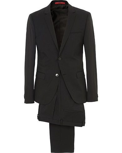 AlisterS Stretch Wool Suit Black i gruppen Tøj / Jakkesæt hos Care of Carl (SA000216)