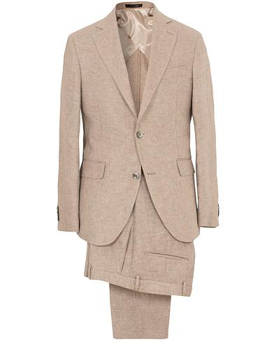 Egel Linen Suit Beige i gruppen Klær / Dresser hos Care of Carl (SA000218)