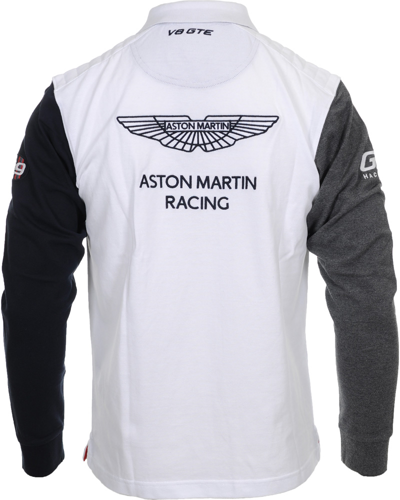 hackett aston martin racing rugby white hos. Black Bedroom Furniture Sets. Home Design Ideas