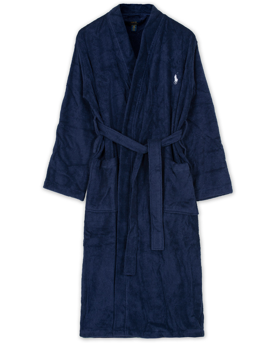 polo ralph lauren light terry kimono robe cruise navy hos careofc. Black Bedroom Furniture Sets. Home Design Ideas