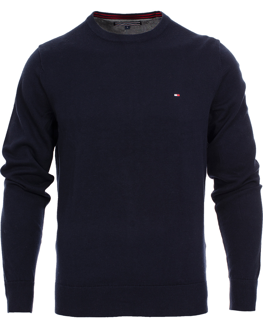 tommy hilfiger pacific crew neck pullover navy hos. Black Bedroom Furniture Sets. Home Design Ideas