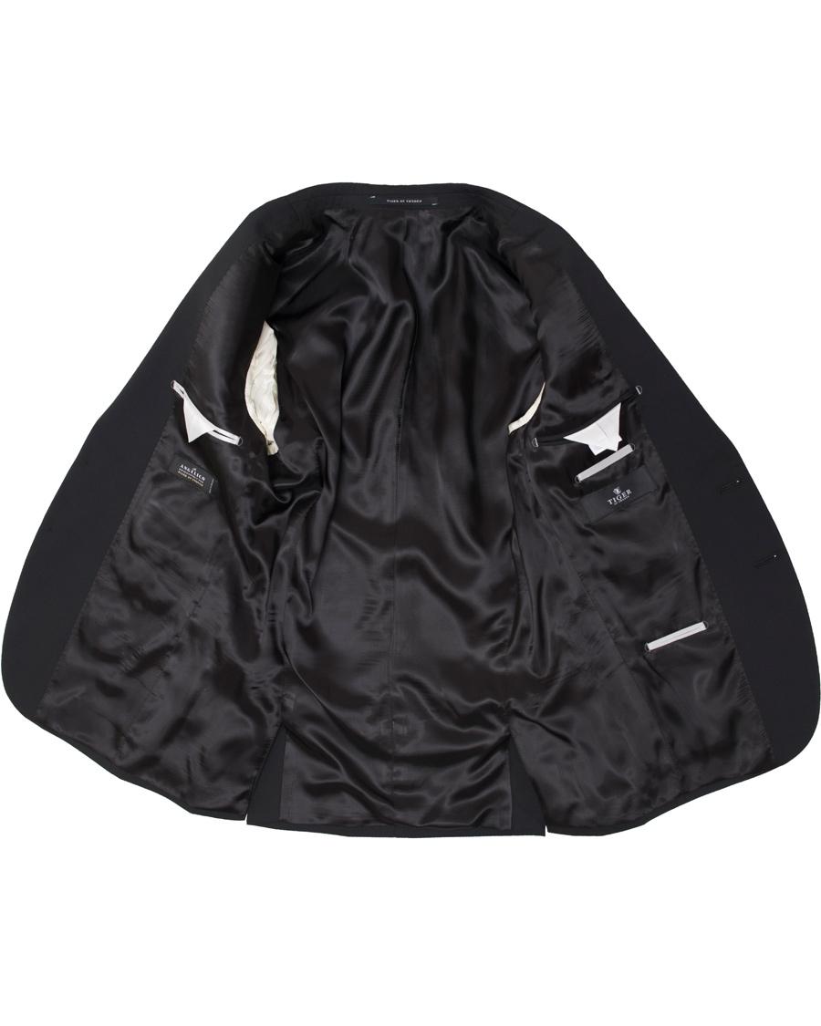 enkelkn ppta kavajer tiger of sweden nedvin blazer black. Black Bedroom Furniture Sets. Home Design Ideas