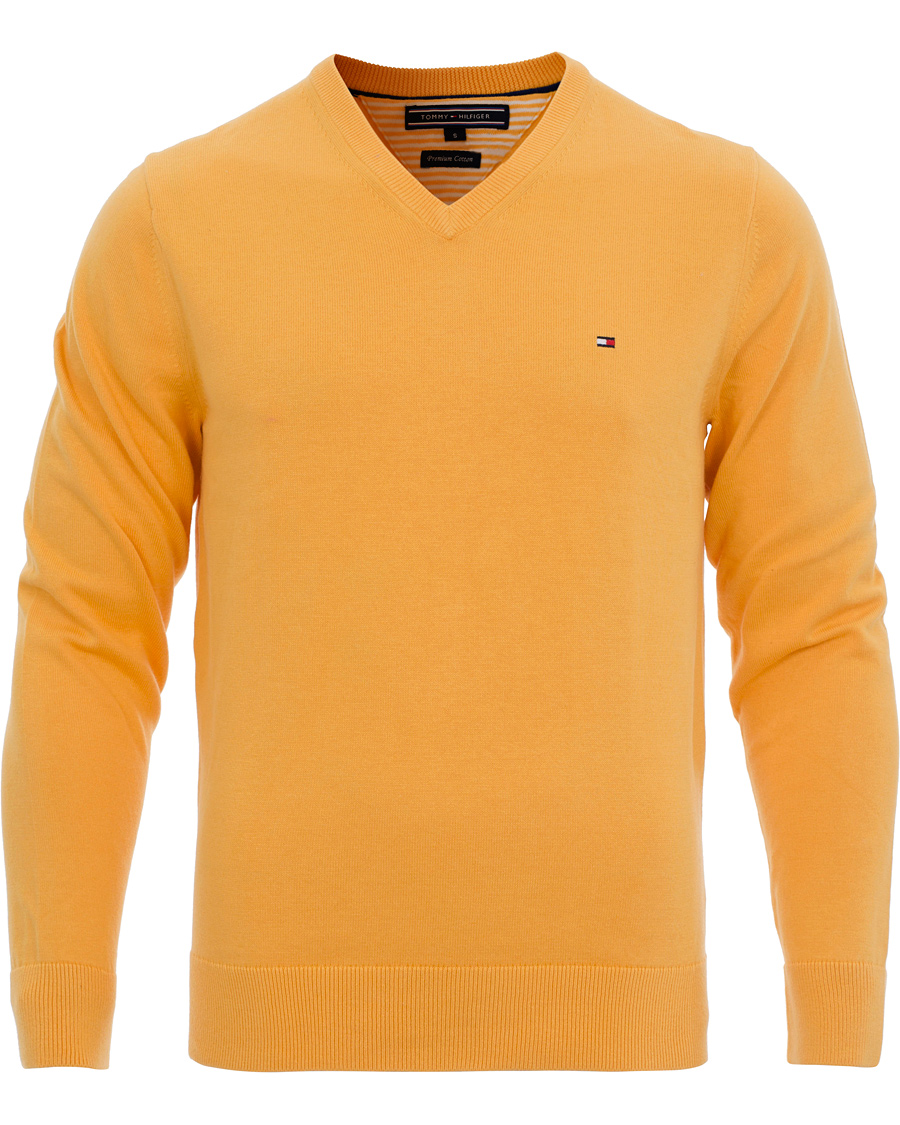 tommy hilfiger pacific v neck pullover beeswax yellow hos. Black Bedroom Furniture Sets. Home Design Ideas