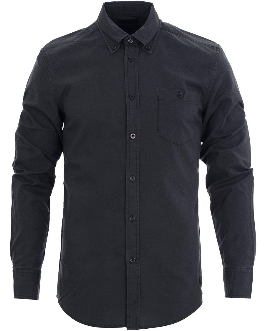 Tiger of sweden jeans rise button down shirt black hos for Tiger of sweden shirt
