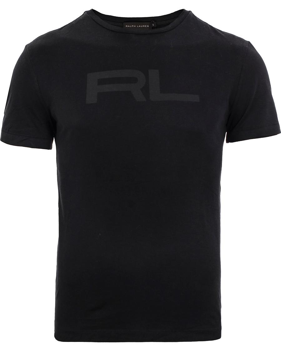 Ralph lauren black label logo rib polo black hos for Ralph lauren black label polo shirt
