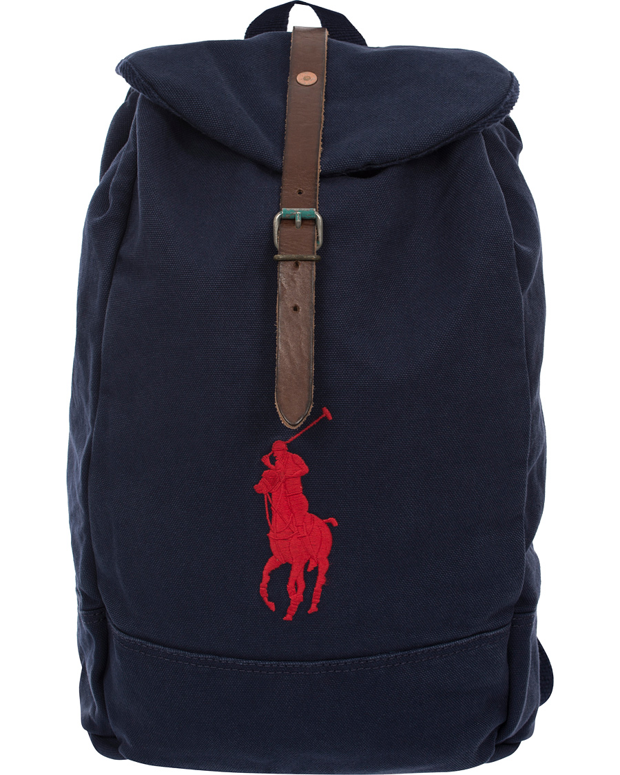 polo ralph lauren backpack navy hos. Black Bedroom Furniture Sets. Home Design Ideas