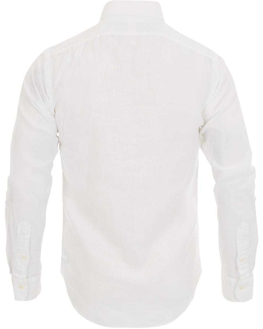 Polo Ralph Lauren Slim Fit Estate Linen Shirt White Hos