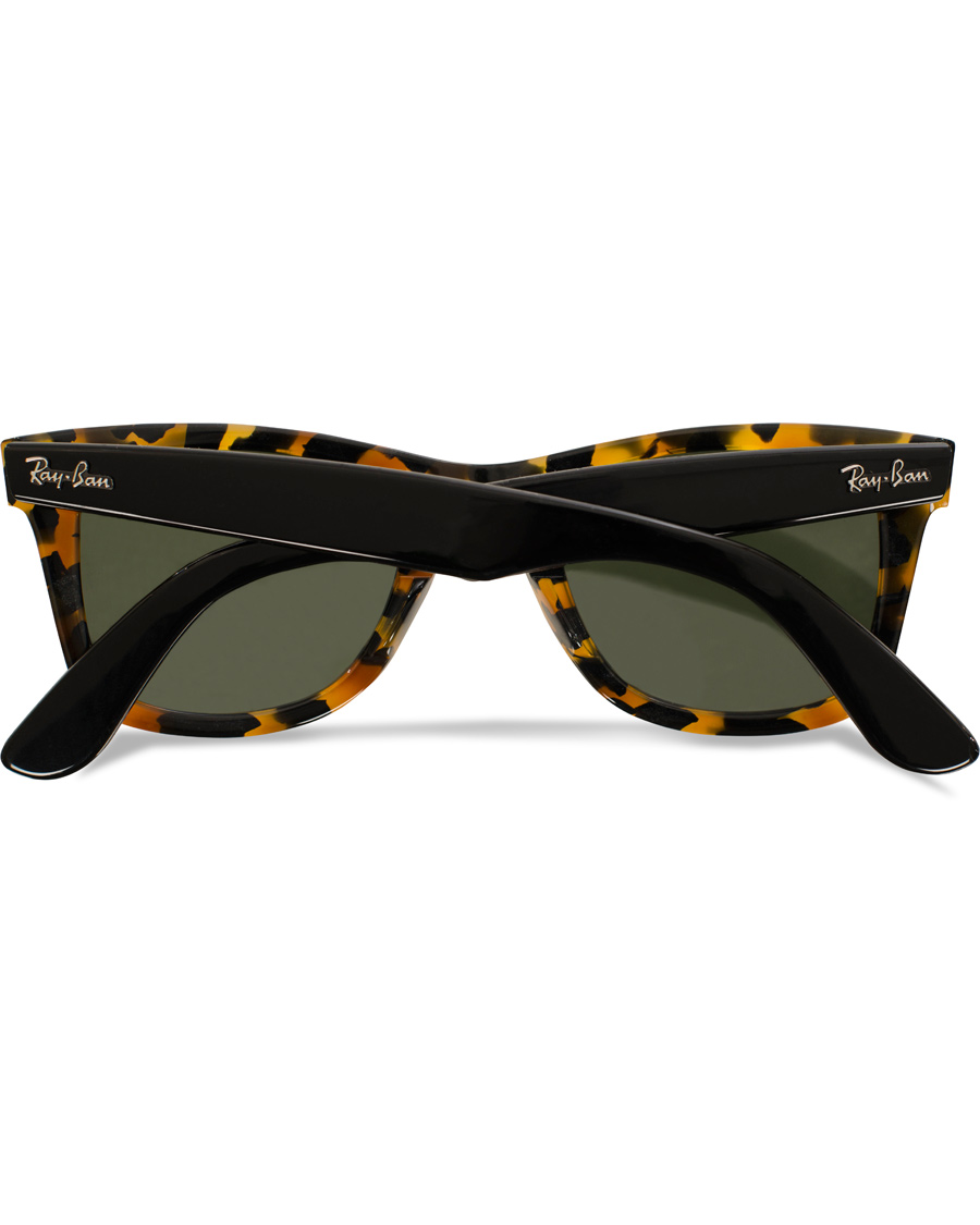 8f4d3cef1cb Ray-Ban Original Wayfarer Sunglasses Spotted Black Havana Green hos Ca