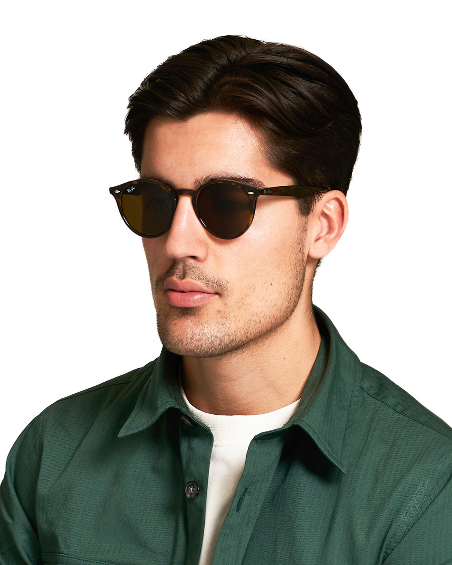 9e09f0139a Ray Ban RB2180 Acetat Sunglasses Dark Havana Dark Brown