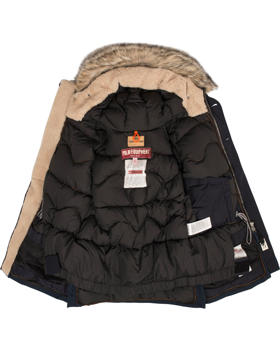 Parajumpers Musher Man Polar Equipment Jacket Navy