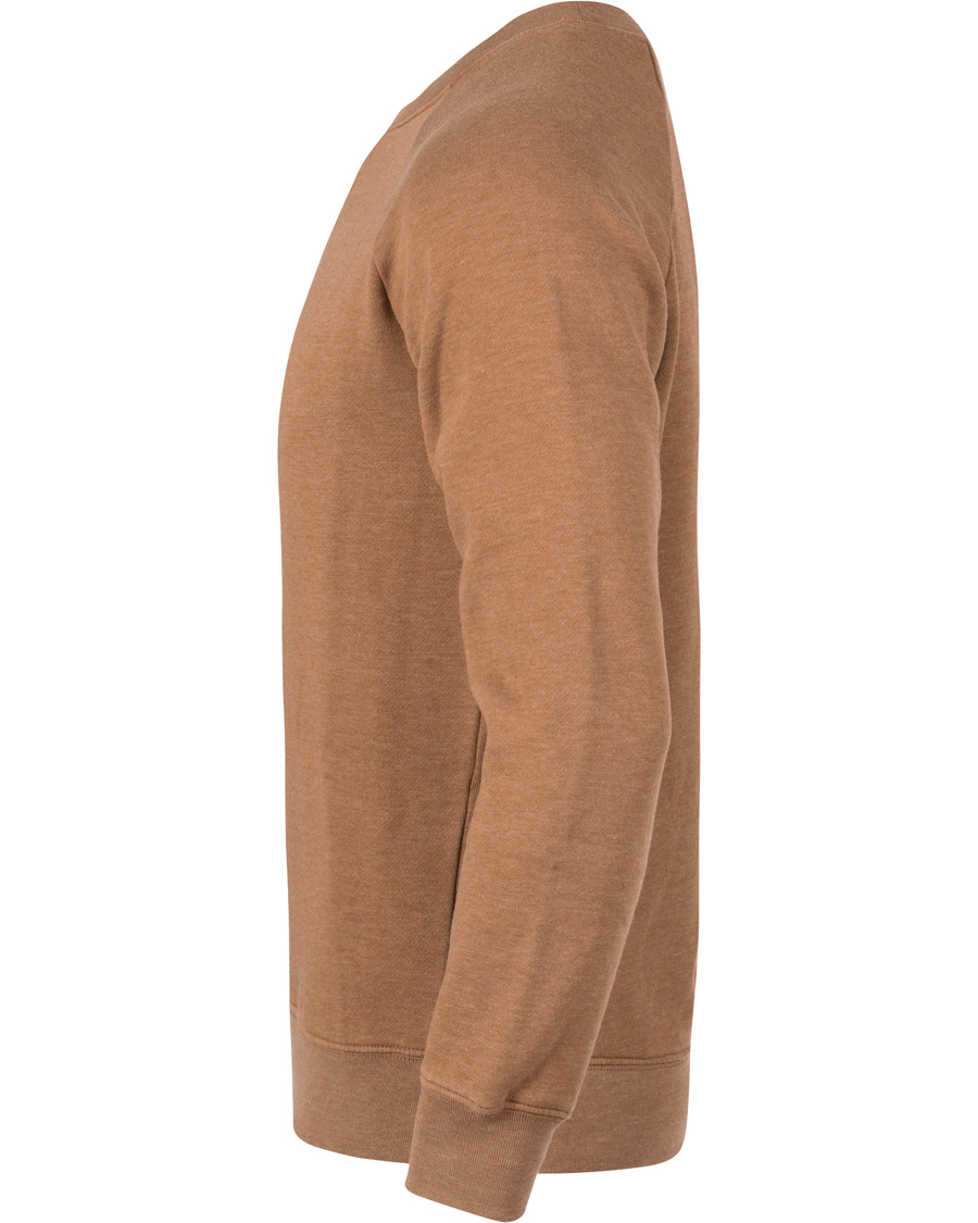 gant rugger the raglan sweatshirt wood brown hos. Black Bedroom Furniture Sets. Home Design Ideas