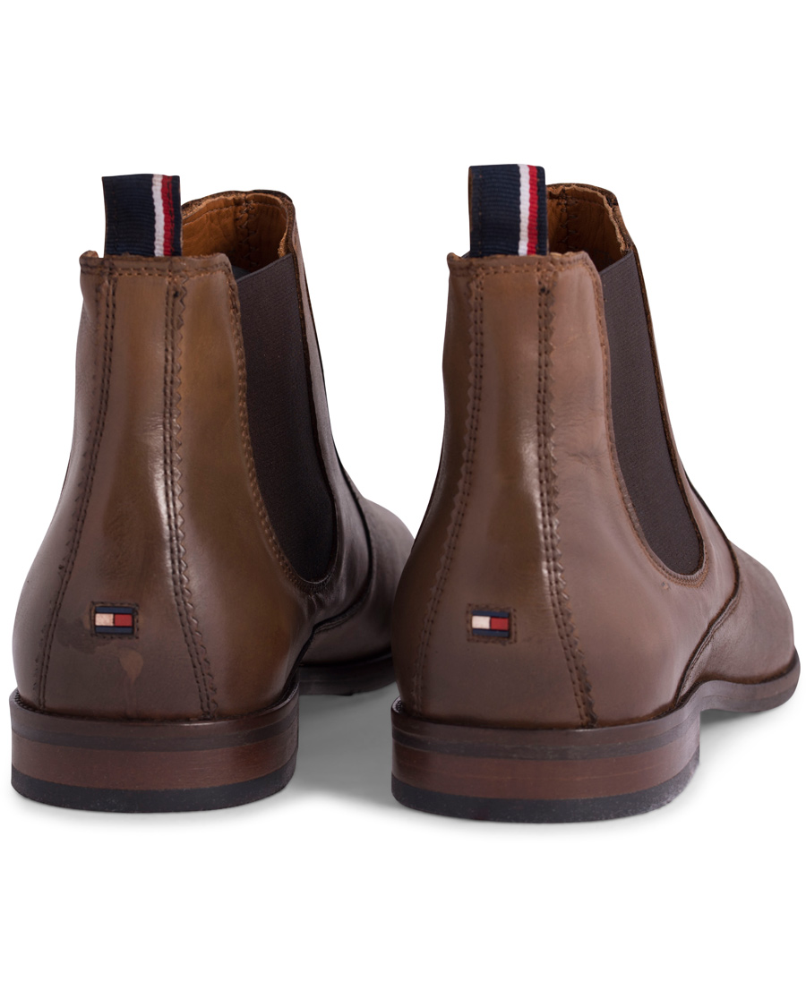 tommy hilfiger dalton 18a chelsea boot winter cognac calf. Black Bedroom Furniture Sets. Home Design Ideas