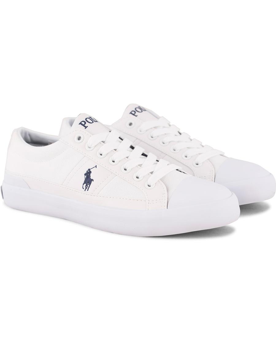 Polo Ralph Lauren Churston Canvas Sneaker White