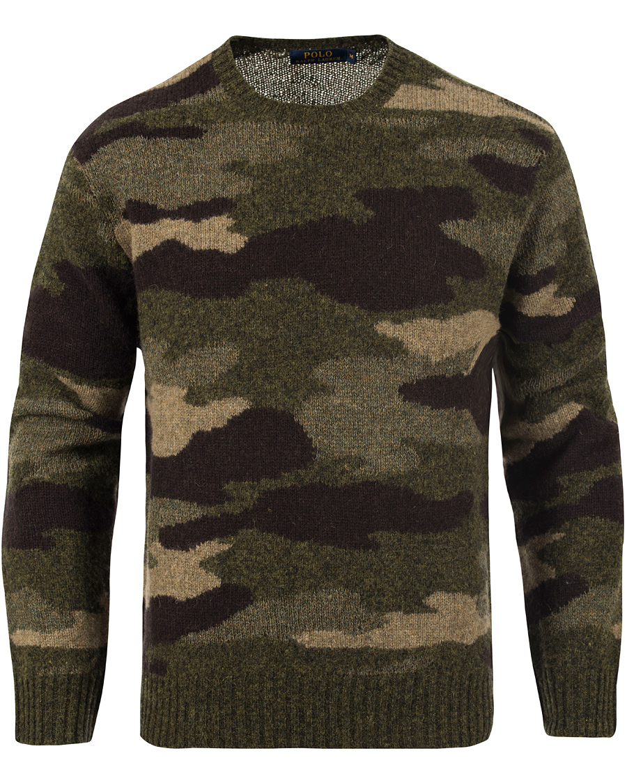 Inexpensive Ralph Lauren Pattern Sweater Neck Camo Polo F890a B727d Crew zSVpqMU