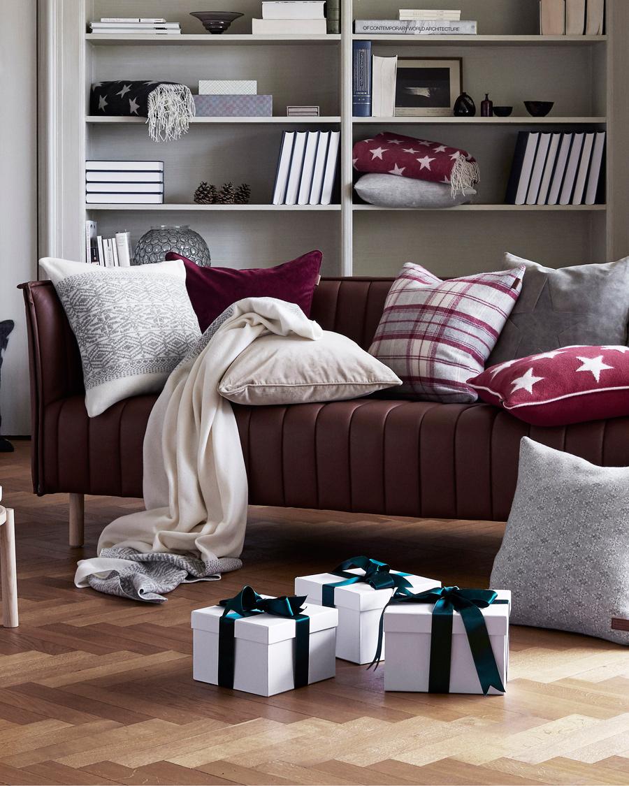 gant home allover star plaid antracite hos. Black Bedroom Furniture Sets. Home Design Ideas