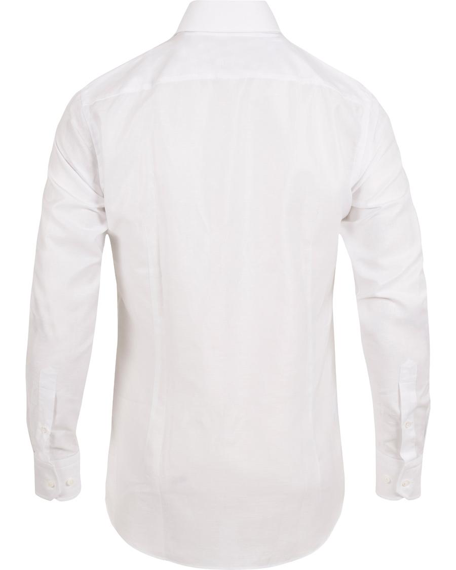 Boss Tailored Christo Slim Fit Linen Shirt White Hos