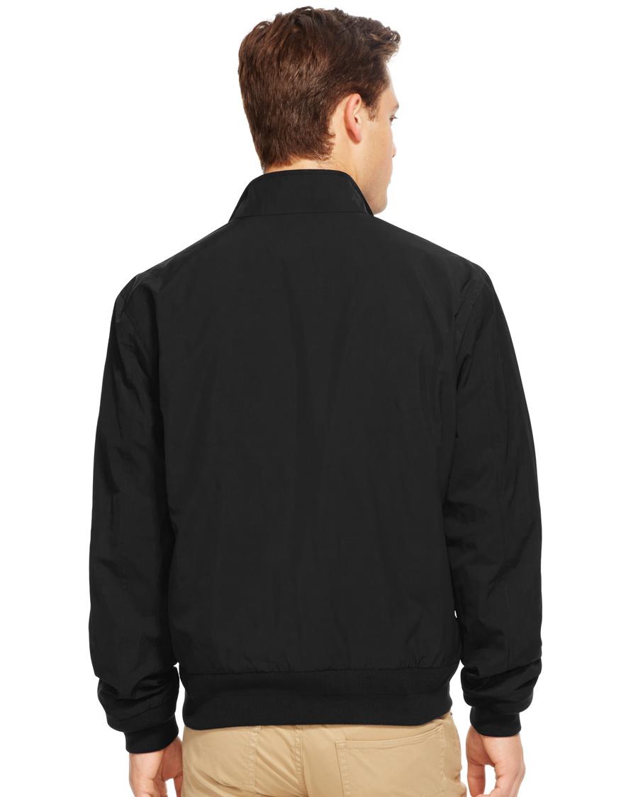 polo ralph lauren barrarcuda bomber jacket polo black hos. Black Bedroom Furniture Sets. Home Design Ideas