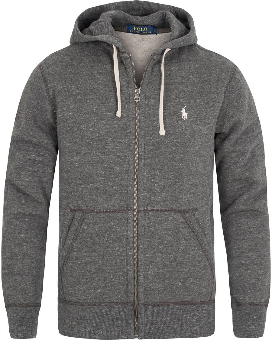 b160770a ... inexpensive polo ralph lauren full zip hoodie bowery heather e38af b9f71